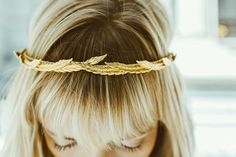 Jennifer Behr Eris headband // #weddings