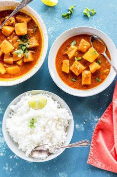 pumpkin thai curry made in the instant pot