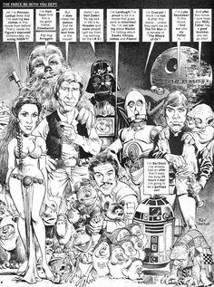 Classic Mort Drucker MAD artwork (1983)