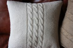 Nati's little things: Knitted cushion covers - free pattern