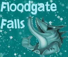 Floodgate Falls custom ride sign #RCT3 Roller Coaster Tycoon, Darien Lake, Signs, Fall, Animals, Autumn, Animales, Animaux, Shop Signs