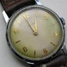 WORKING VINTAGE lewis's WRISTWATCH MANUAL WIND RETRO  British made watch