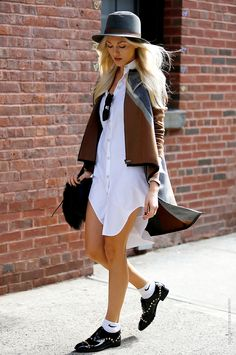 chicblanccouture:   street style by... - In the streets...