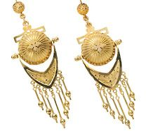 Victorian Grand Period Fringe Earrings