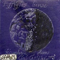 Lunar Sketch after Galileo