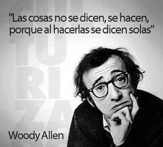 Woody Allen says: The Words, More Than Words, Cool Words, Quotes To Live By, Me Quotes, Motivational Quotes, Inspirational Quotes, Qoutes, Frank Kafka