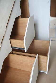 under stairs storage in oak dublin by ingrained
