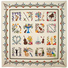 BALTIMORE RHAPSODY—SYMPHONY by Teresa Rawson, Ypsilanti, Michigan. Viewer's Choice Quilt Award, 2014 AQS - Grand Rapids