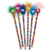 Raymond Geddes Miles O' Smiles Tip Topz Pencils 24 Pack