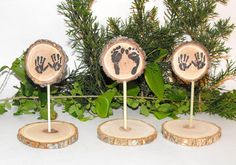 Woodland Baby Shower Decorations tiny baby by OzarkPartySupply