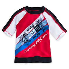 Lightning McQueen Rashguard for Boys | Disney Store