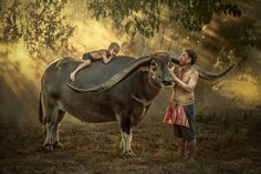 Thailand kid farmer sleeping happily. by Jakkree Thampitakkul on 500px