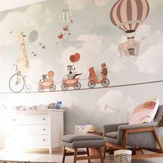 Little hands wallpaper – Joli Place – Kids Room 2020 Baby Boy Rooms, Baby Bedroom, Baby Room Decor, Nursery Room, Kids Bedroom, Nursery Decor, Bedroom Wall, Little Hands Wallpaper, Kids Room Wallpaper