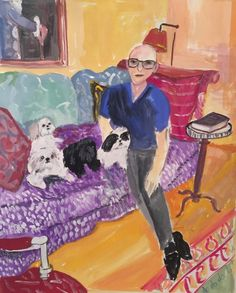 Robert with Dear Dogs from