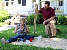 Ben and Erin Napier lovingly revitalize the charm in a classic home that has an interesting history dating to World War II. Home Town Hgtv, Erin Napier, Hgtv Shows, City Limits, Young Couples, Interesting History, Classic House, Old Houses, Seasons