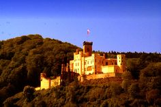Germany, castle, Stolzenfels, places, Rhine, Koblenz-Stolzenfels, Koblenz, Coblenz