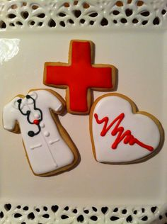 RN Graduation cookies - Happiness with Icing 2015
