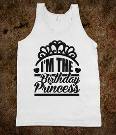 I'm The Birthday Princess
