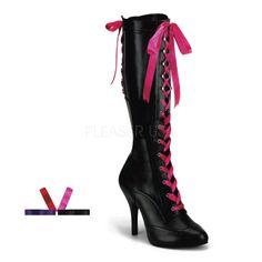 $126 Burlesque Costumes Boots! Love vintage burlesque? Burlesque costume boots on sale this weekend!