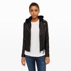 Women   Mackage Yoana Leather Jacket   Club Monaco