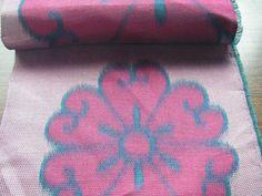 Vintage silk Japanese kimono fabric pink by hiroetakenaka on Etsy, $7.90