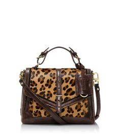 eee56f3779c0 797 Medium Satchel I m a sucker for leopard prints and this is an absolute