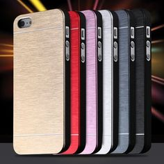 Cool Metal Gold Case/Cover Apple Iphone