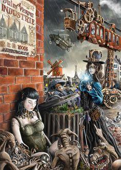 sorciere steampunkbywwardwarf