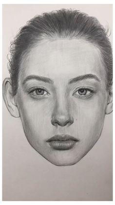 Dark Art Drawings, Art Drawings Sketches Simple, Pencil Art Drawings, Horse Drawings, Drawing Art, Sketches Of Faces, Pencil Portrait Drawing, Portrait Sketches, Drawing Portraits