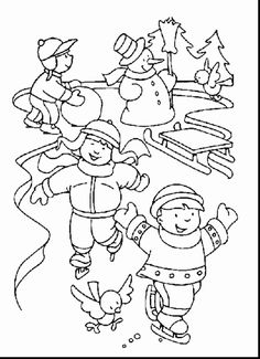 Coloring Pages Winter Scenery Pictures - - Yahoo Image Search Results Snowflake Coloring Pages, Coloring Pages Winter, Snowman Coloring Pages, Christmas Coloring Pages, Printable Coloring Pages, Colouring Pages, Free Coloring, Coloring Sheets, Coloring Pages For Kids