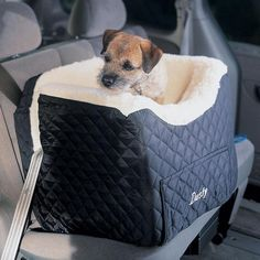 Dog Car Seats sale $69 tray slips out for stash sizes S-L helps prevent motion sickness by keeping dog securely in place