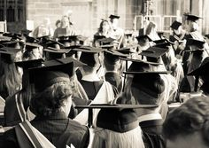 """""""Graduate..."""" A flock of graduates sitting proudly within the historic Chester Cathedral during their Graduation Ceremony..."""