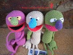 AmigurumisFanClub, ...cute monster!!!