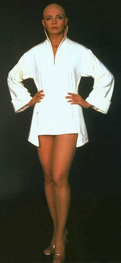 Star TrekⅠ The Motion Picture Cosplay Ilia Deltan Navigator Uniform Costume