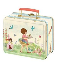 Belle and Boo Childrens Lunch Box / Tin Tote in Home, Furniture & DIY, Food & Drink, Picnics & Hampers Camille Redouble, Belle And Boo, Tin Lunch Boxes, Little Ones, Toddler Girl, Birthday, Fun, Kids, Ebay