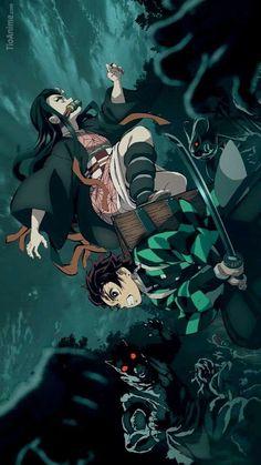 8 Ide Kimetsu No Yaiba Hd Wallpaper Seni Anime Gambar Anime Animasi