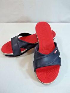 5fa541cf9d9 CLARKS Bendables Women s White Leather Slip-On Slides Sandals Size 7 ...