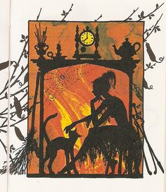 """""""Cinderella"""" Heinemann 1977. Illustrated by Jan Pienkowski, via Flickr."""