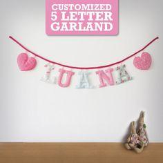 Customized Handmade Fabric Garlands  5 by Loveprettygarlands, $38.00