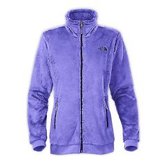 North Face Mod-Osito Womens C845-CUE Starry Purple Silken Fleece Jacket Size XL