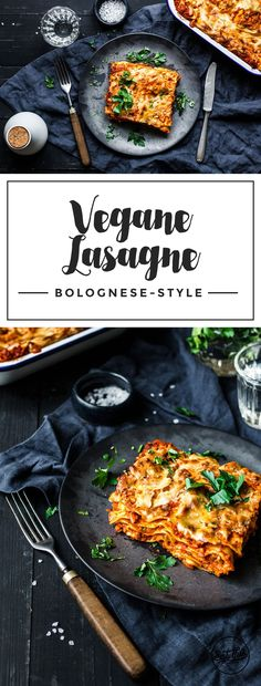 Mit würzigem Sojahack, fruchtiger Tomate… The perfect vegan lasagna Bolognese. With spicy soybean, fruity tomato passata and strong bechamel sauce. Grilling Recipes, Veggie Recipes, Vegetarian Recipes, Cooking Recipes, Healthy Recipes, Shrimp Recipes, Lunch Recipes, Beef Recipes, Healthy Food