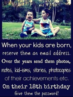 Not a bad idea for older parents to do for their grown children because one day… Great Idea For Your Kids quotes quote memories family quote family quotes parent quotes mother quotes parenting ideas Kids And Parenting, Parenting Hacks, Parenting Quotes, Funny Parenting, Parenting Plan, Parenting Styles, Gentle Parenting, Education Positive, Baby Kind