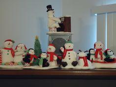 I have them all!!!! Christmas 2011 ... Love my animated Hallmark snowmen, penguins, and doggies!