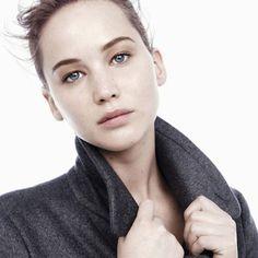 Jennifer Lawrence Dior Ad.  Loving the no makeup look.