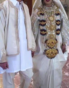 Libyan groom and bride