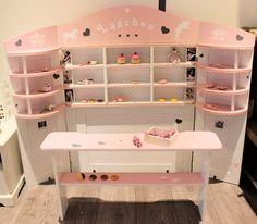 Kaufladen rosa weiß