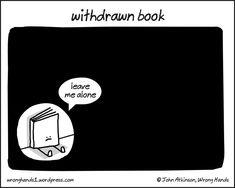 Withdrawn book comic by John Atkinson