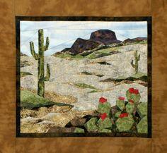 """Southwest Splendor"" Pieced Quilt Pattern by Cynthia England"