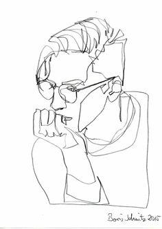 Technique dessin noir et blanc quel dessin faire pour un ami cadeau un ligne dessin