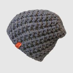 Mütze L in grau